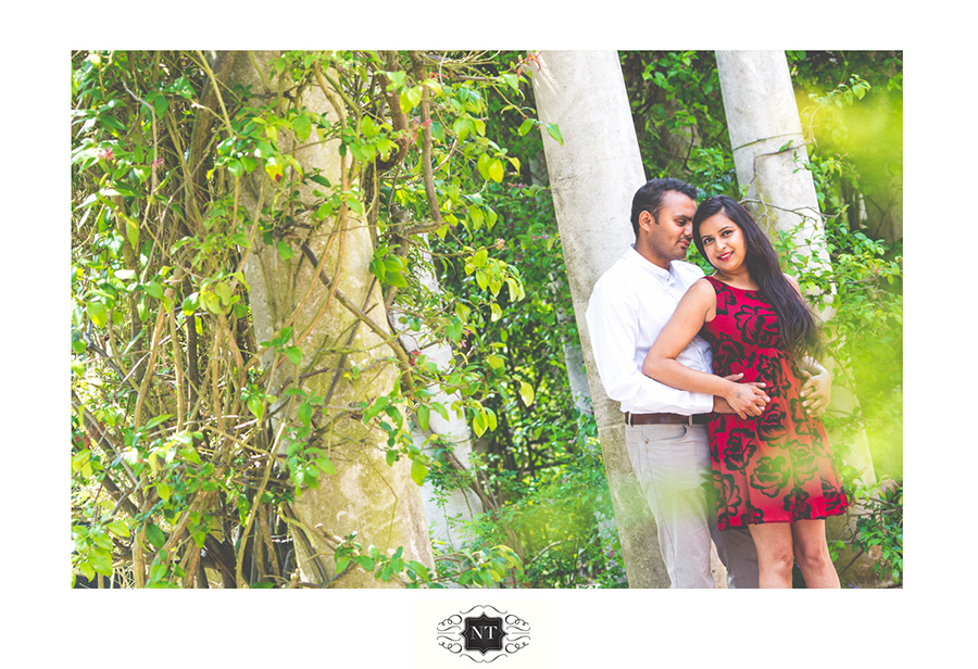 Pre WedCouple Portraits at Hill Garden and Pergola, Hampstead Heath by Nik Thakar Indian Wedding Photographer