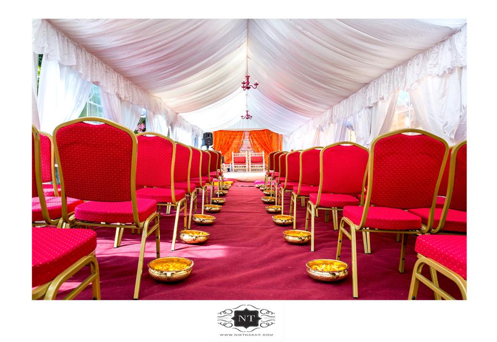 Asian wedding mandap photo