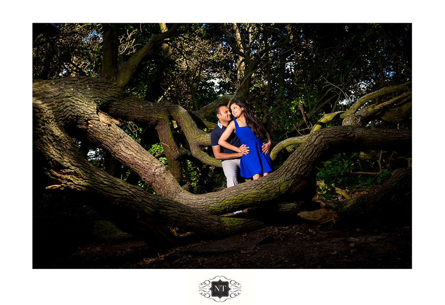 Couple Portraits at Hill Garden and Pergola, Hampstead Heath by Nik Thakar Asian Wedding Photographer