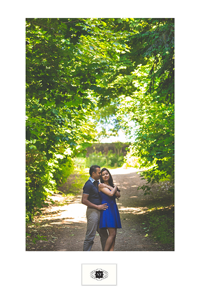 Couple Portraits at Hill Garden and Pergola, Hampstead Heath