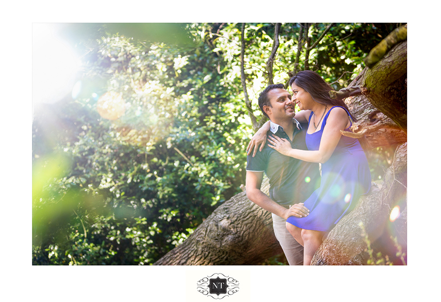 Pre wedding Engagement photoshoot at Hill Garden and Pergola, Hampstead Heath