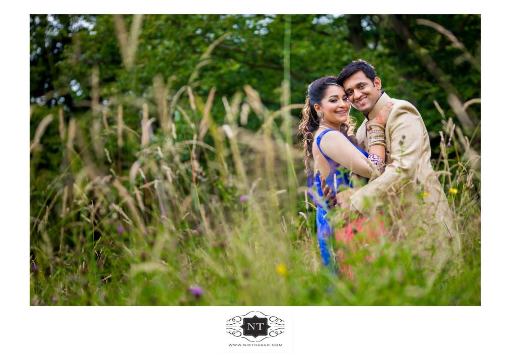 Engagement couple portraits