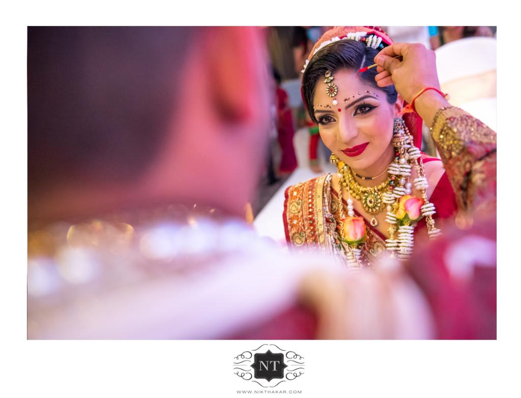 Sindoor asian wedding photography